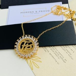 Morena and Proud 24k gold plated FE Necklace
